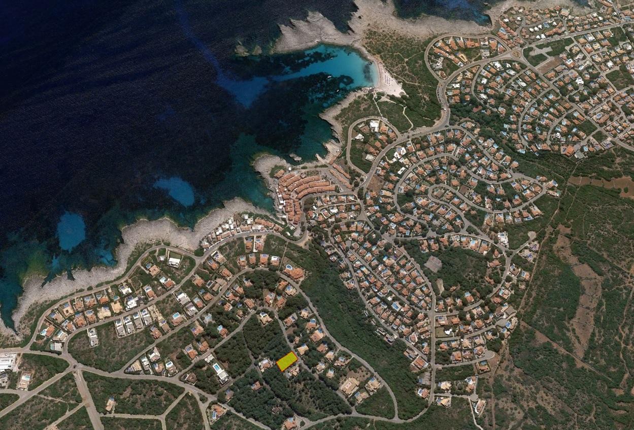 Parcelle près de la mer en vente à Minorque