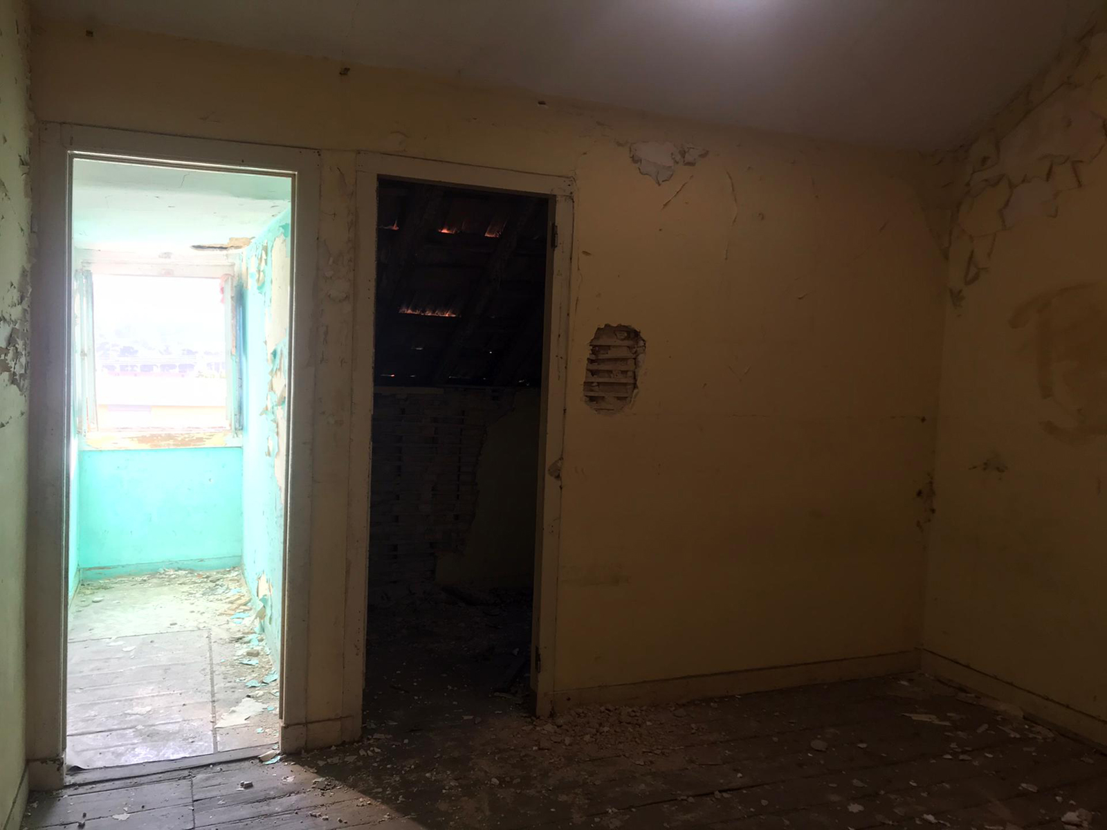 Building in Total Property with 3 Floors for Total Recovery