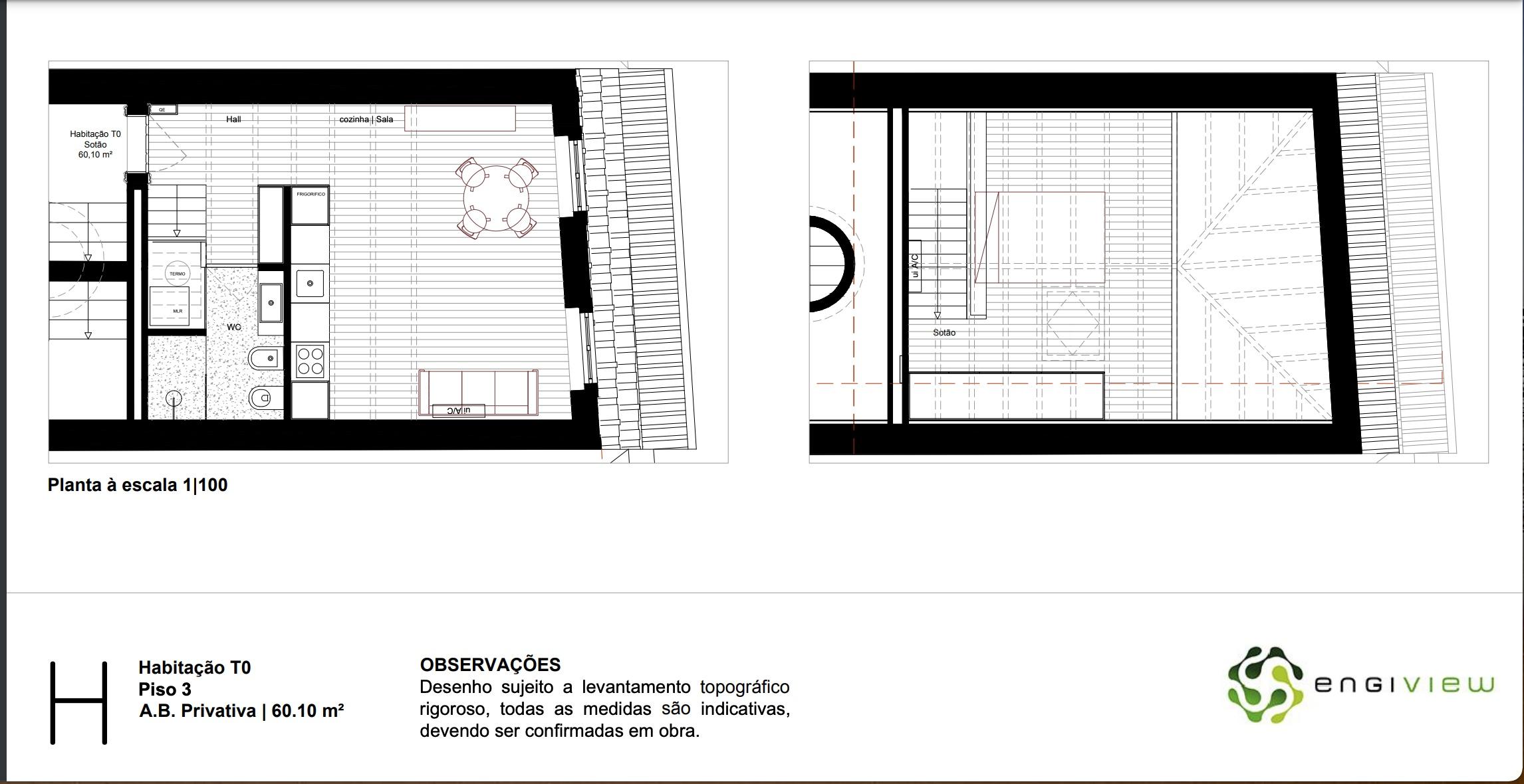 למכירה-דירת סטודיו חדשה, עם קומת גלריה, פורטו