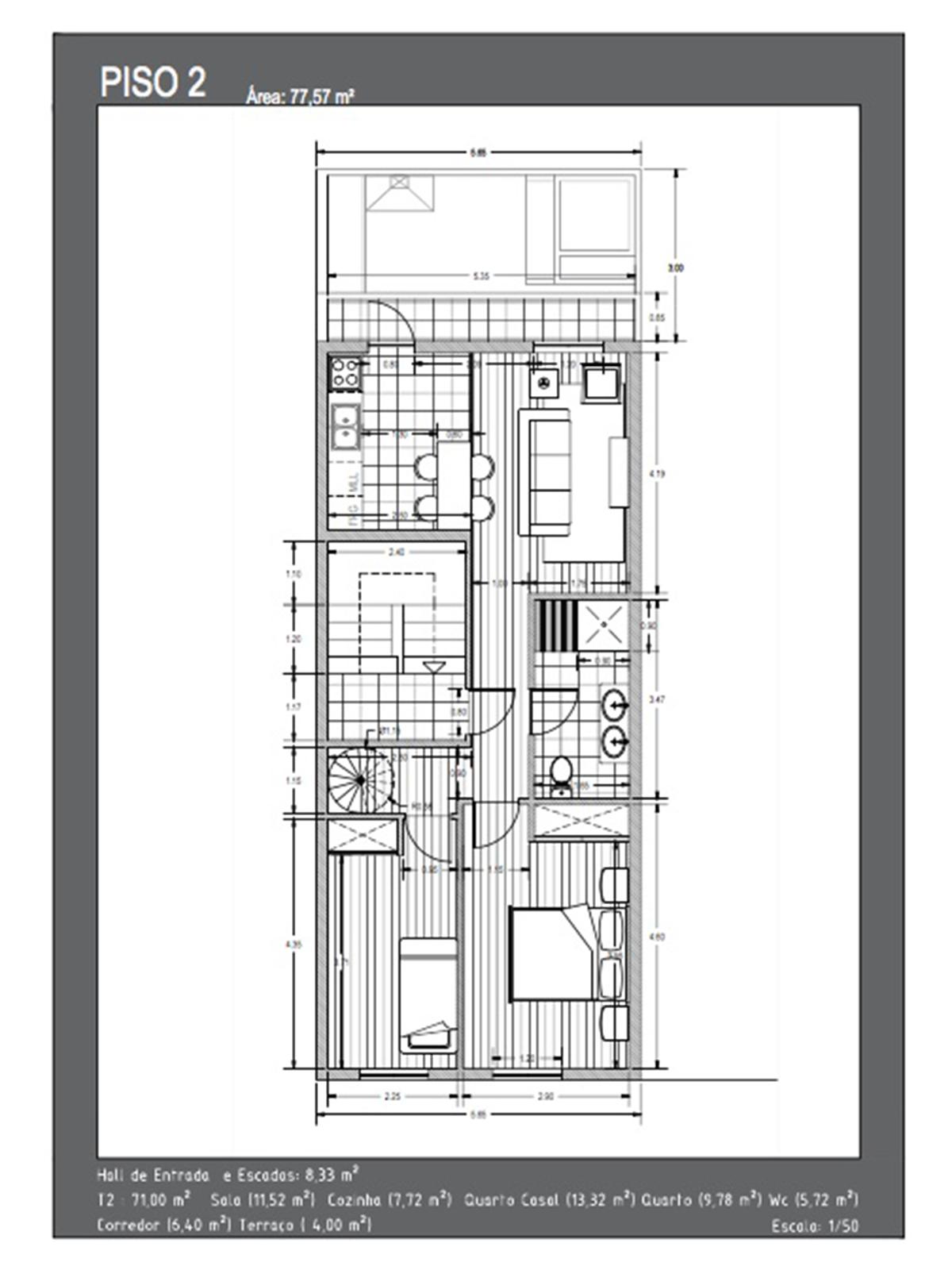 Remodelled Building in União das Freguesias de Setúbal – 231.3 m²