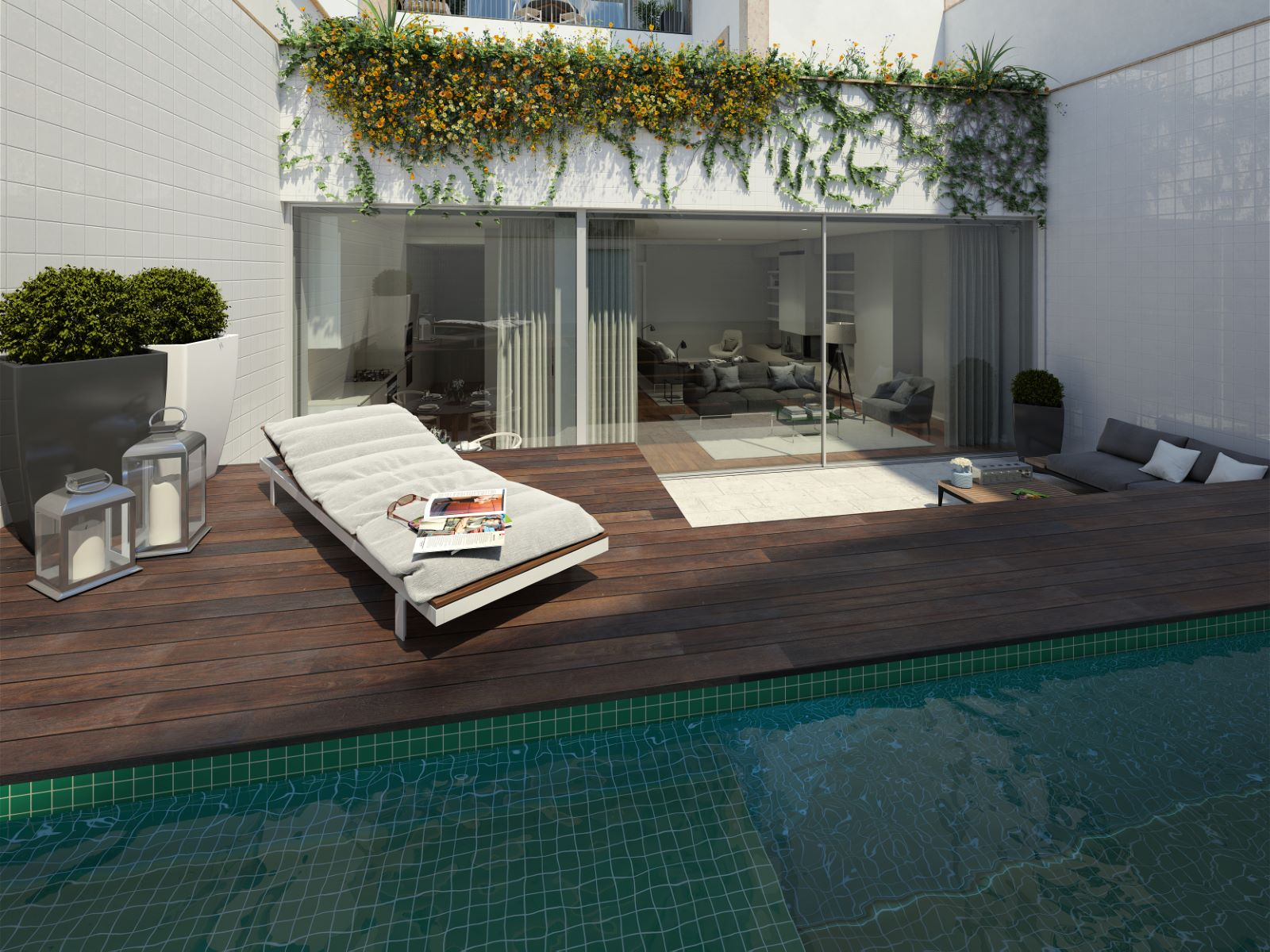 3 BEDROOM APARTMENT WITH TERRACE AND POOL IN CHIADO, LISBON