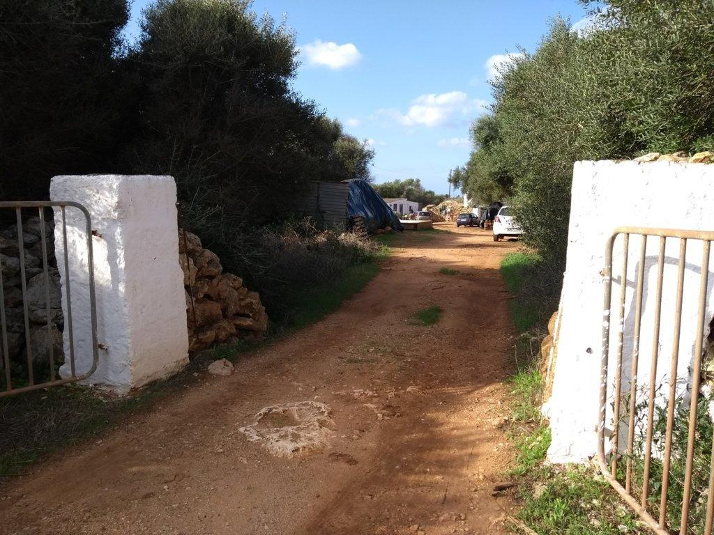Propriété rustique à vendre près de Ciutadella-Entrée
