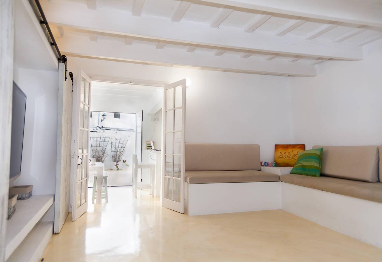Maison au centre de Mercadal_salon