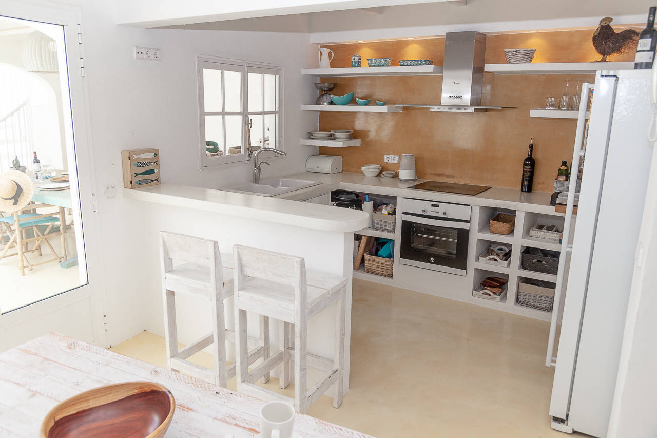 Maison au centre de Mercadal_cuisine