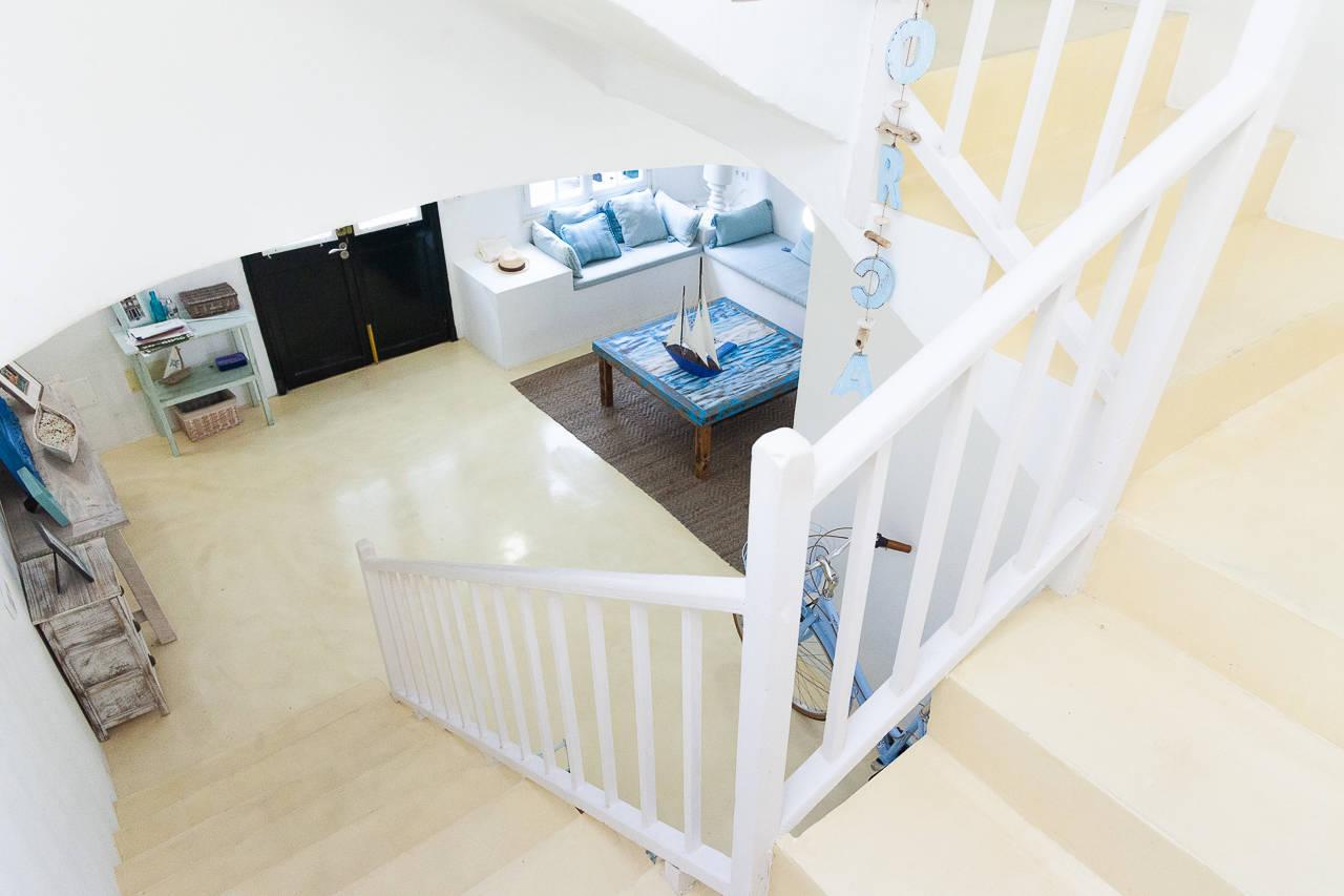 Maison au centre de Mercadal_escaliers