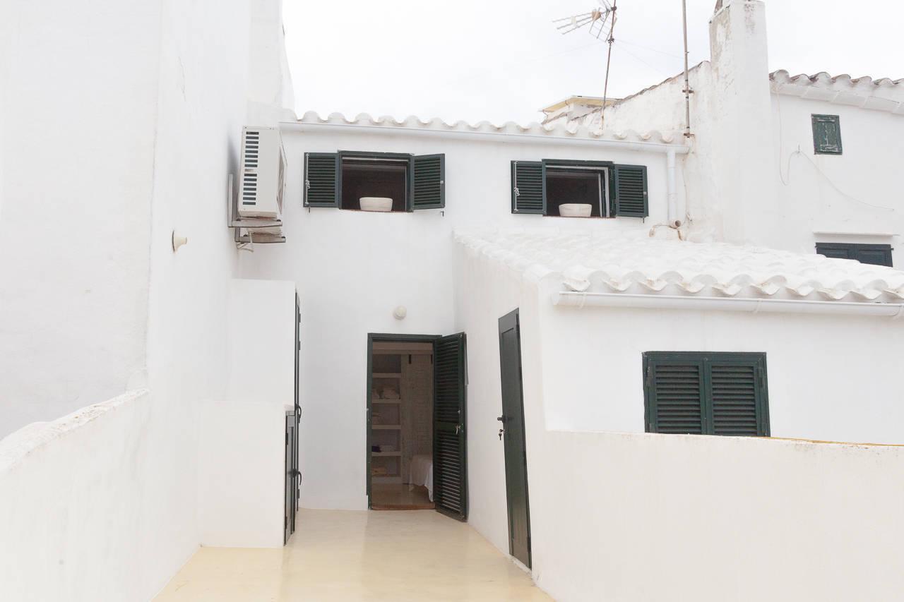 Maison au centre de Mercadal_terrasse