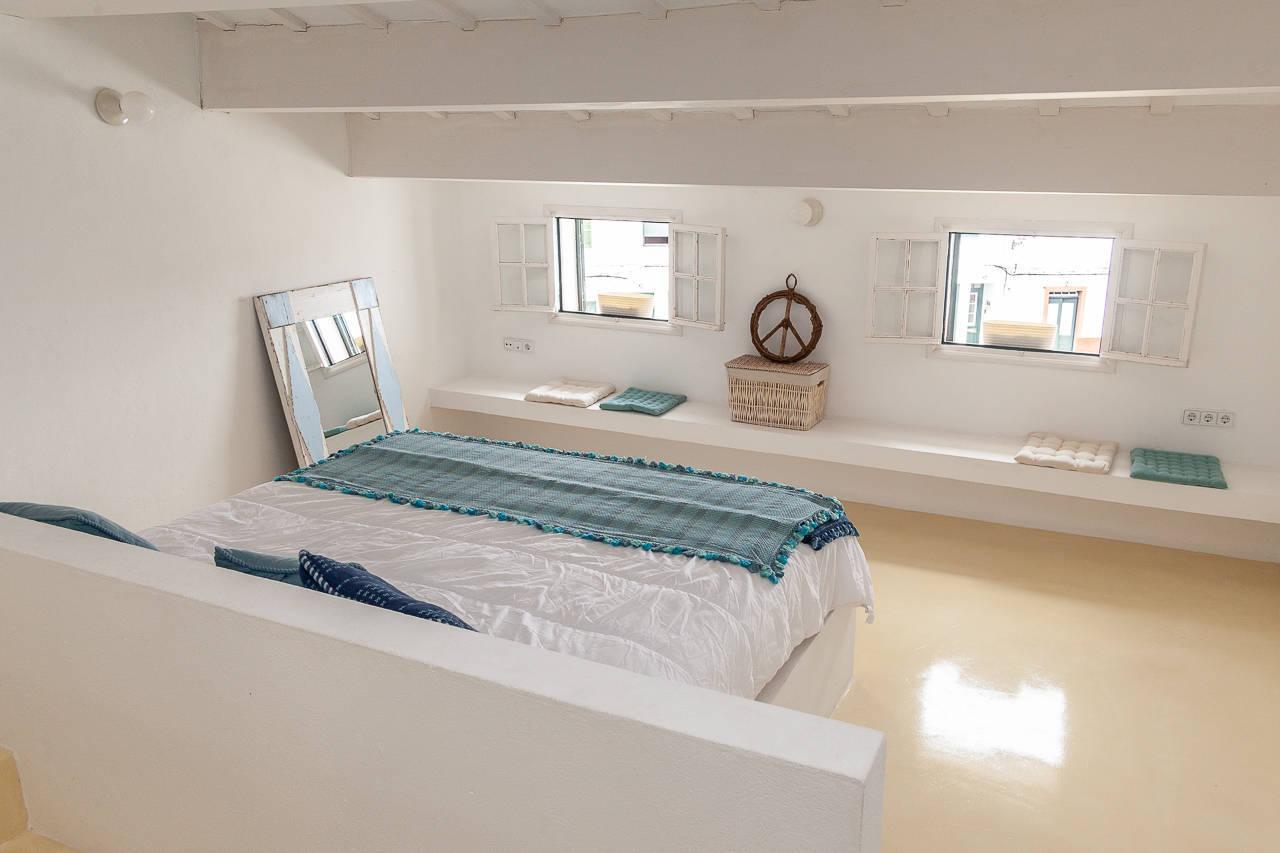 Maison au centre de Mercadal_chambre à coucher