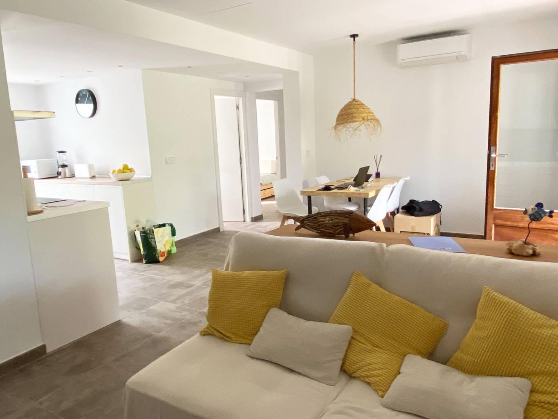 Chalet en Cap D'artruix_living room